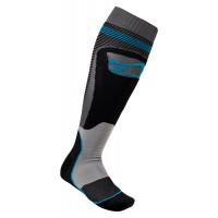 Alpinestars MX PLUS-1 technical socks Black Grey Blue