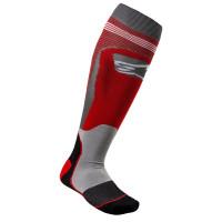 Alpinestars MX PLUS-1 technical socks Red Grey