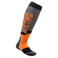 Alpinestars MX PLUS-2 technical socks orange grey