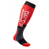 Alpinestars MX PLUS-2 technical socks black red