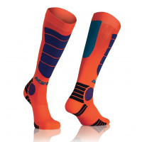 Acerbis MX Impact Child socks Fluo Orange Blue