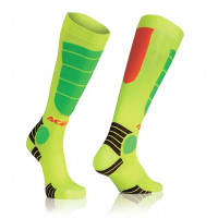 Acerbis MX Impact Child socks Fluo Orange Fluo Yellow