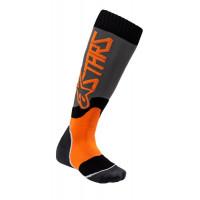 Alpinestars YOUTH MX PLUS-2 kid technical socks Black Orange