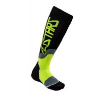 Alpinestars YOUTH MX PLUS-2 kid technical socks Black yellow