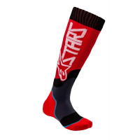 Alpinestars YOUTH MX PLUS-2 kid technical socks Red white