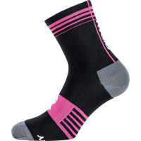 Riday HEAVY woman socks Black Pink