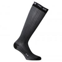 Long technical socks Sixs LONG 2 fabric Black carbon