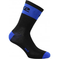 Technical Socks Sixs Short Logo Blue