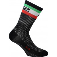 Technical Socks Sixs Short Logo Flag