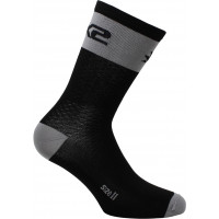 Technical Socks Sixs Short Logo Grey