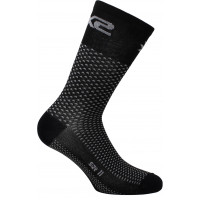 Technical Socks Sixs Short Logo Black