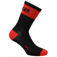 Technical Socks Sixs Short Logo Red