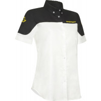 Short sleeve shirt Acerbis Team White Black