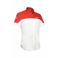 Acerbis Team Short Sleeve Shirt White Red