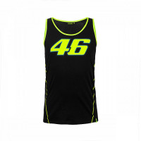 VR46 46 RACE TANK TOP BLACK