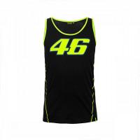 VR46 46 RACE TANK TOP BLACK