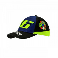 VR46 RACING Yamaha kid cap Blue Black Yellow