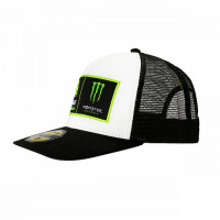 VR46 TRUCKER MID VISOR DUAL  Riders ACADEMY Monster White