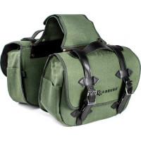 Coppia borse laterali Carburo Matrix Verde Militare