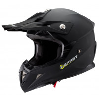Casco cross Befast Dust Nero opaco