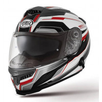 Premier Touran PX8 full face helmet black white red
