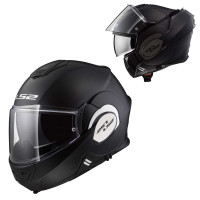 LS2 FF399 Valiant flip off helmet matt Black