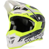 Acerbis PROFILE 4.0 cross helmet fluo yellow white
