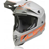 Acerbis X-Track VTR cross helmet fiber Grey