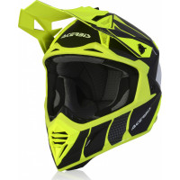 Acerbis X-TRACK VTR cross helmet fiber black yellow fluo