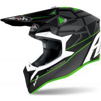 Airoh Wraap Mood cross helmet green matt