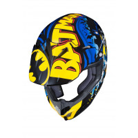 HJC CL-XY II BATMAN DC COMICS kid cross helmet MC23