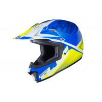 HJC CL-XY II ELLUSION kid cross helmet MC2SF Blue Green White