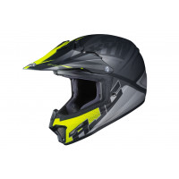HJC CL-XY II ELLUSION kid cross helmet MC5SF Black Grey Green