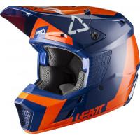 Leatt GPX 3.5 Jr V20.2 cross helmet Orange