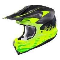 HJC i50 FURY cross helmet MC3HSF Fluo Yellow Black