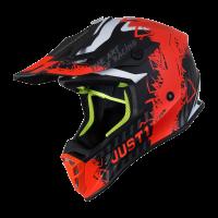 Just1 J38 Mask Helmet Orange Titanium Black
