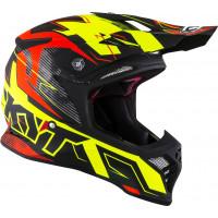 Kyt SKYHAWK DIGGER cross helmet fiber Matt Yellow Orange