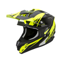 Casco cross Scorpion VX 15 EVO Air Krush Giallo Nero