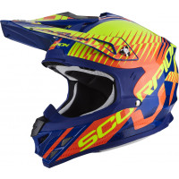 Scorpion VX 15 EVO AIR SIN off road helmet Blue Orange