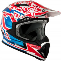 Suomy Rumble Freedom off road helmet Red Blue