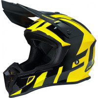 Ufo Plast Quiver Shedir cross helmet Yellow Black