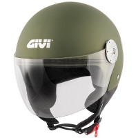 Givi 10.7 Mini-J demi-jet helmet matt metallic military green