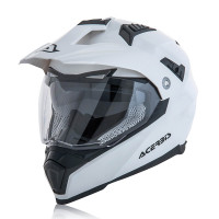 Full face helmet Acerbis Flip Fs-606 Shiny White
