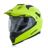 Full face helmet Acerbis Flip Fs-606 Shiny Fluo Yellow