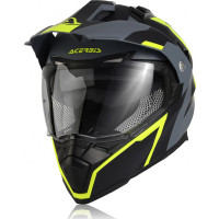 Acerbis Flip Fs-606 full face helmet Black Grey