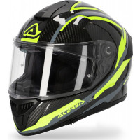 Acerbis TARMAK CARBON full face helmet grey yellow