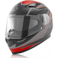Acerbis X-STREET FS-816 full face helmet Red Black
