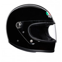 AGV Legends X3000 E2205 Solid full face helmet fiber Black