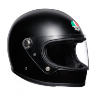 AGV Legends X3000 E2205 Solid full face helmet fiber Matt Black