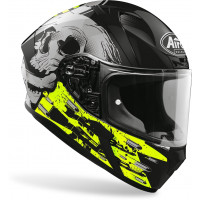 Airoh Valor Akuna full face helmet yellow gloss